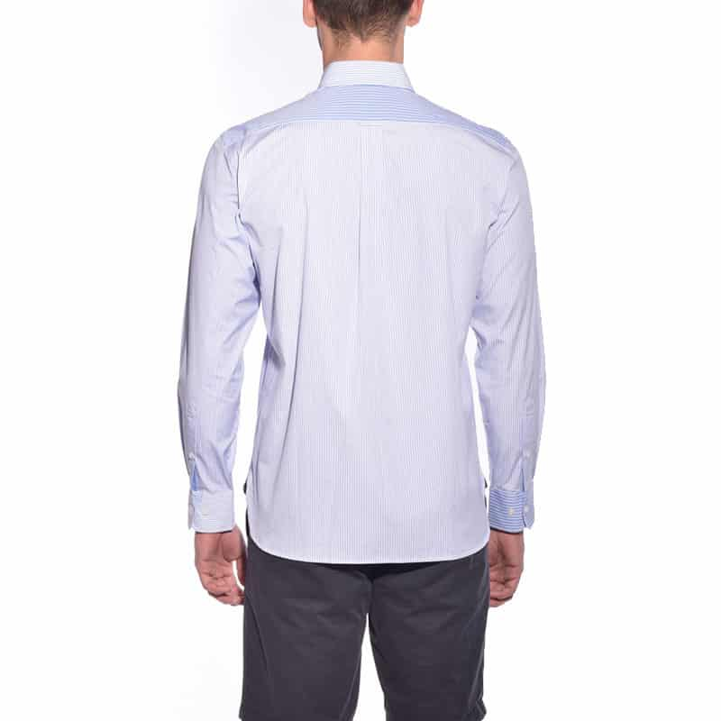 Chemise blanche dos