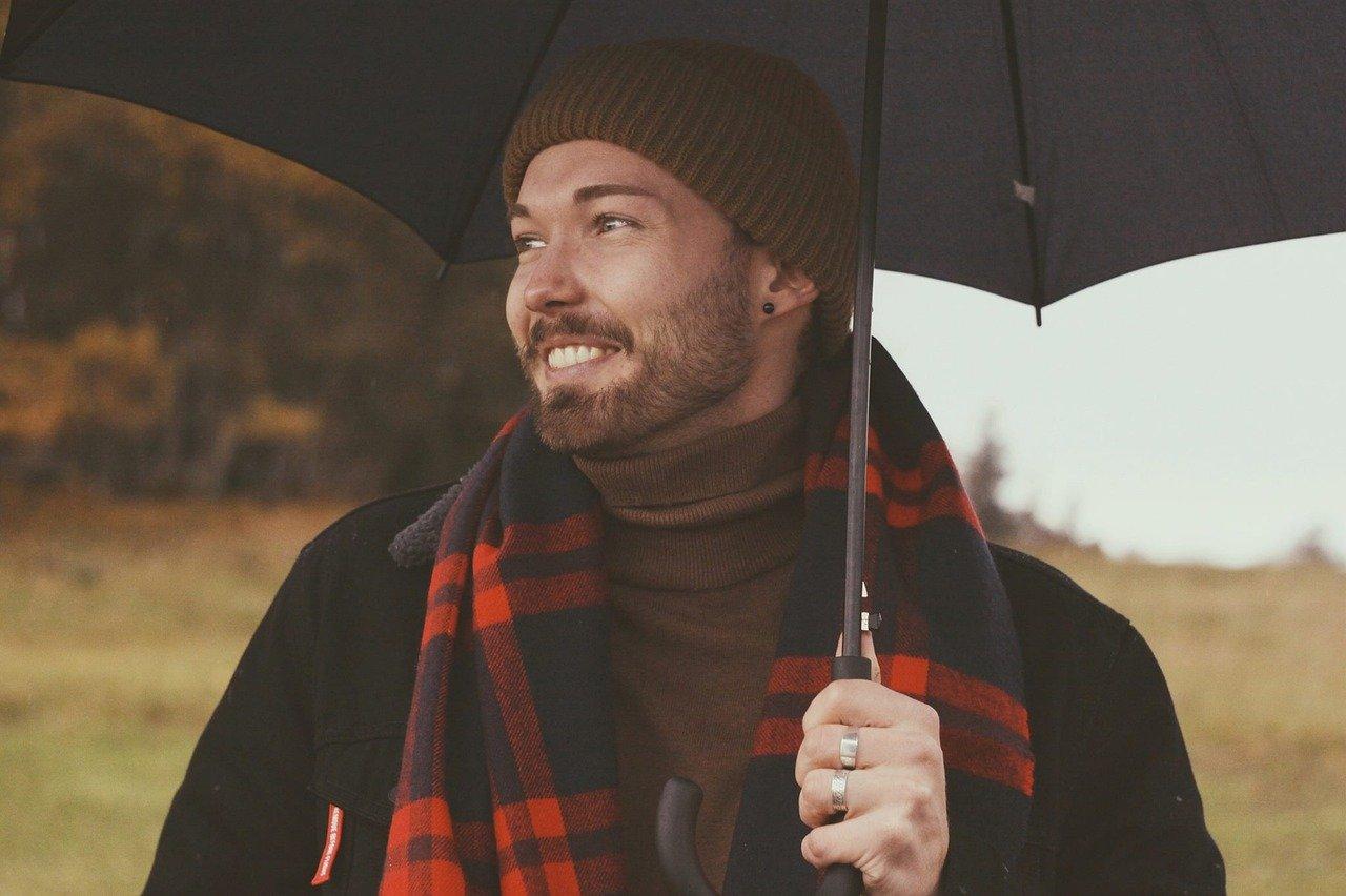 Les couleurs préférées des hommes en hiver