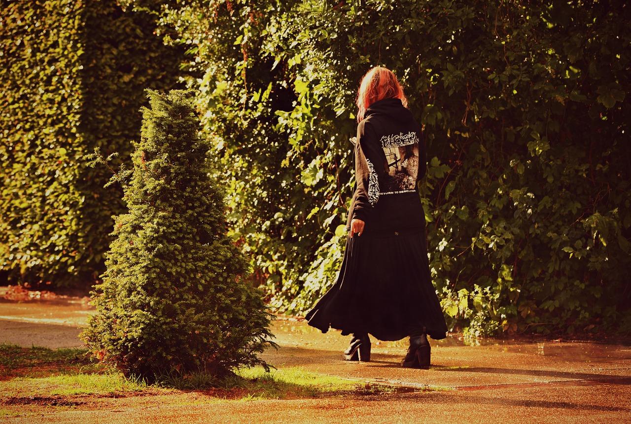 Comment porter une jupe longue à l'automne