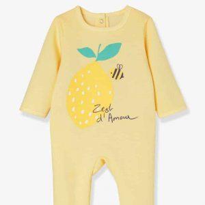 Lot de 2 pyjamas bébé molleton pressionné