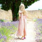 La robe en coton de gaze